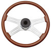 "Kenworth 4 Spoke 18"" Tilt/Telescopic Steering Wheel"