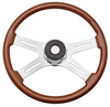 "International 4 Spoke 18"" Tilt/Telescopic Steering Wheel"
