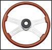"Kenworth 4 Spoke 18"" Adjustable Column Steering Wheel"