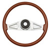 "Freightliner 2 Spoke 18"" Fixed/Adjustable Column Steering Wheel"