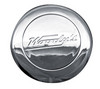 Universal Chrome Horn Button With Woodys Label